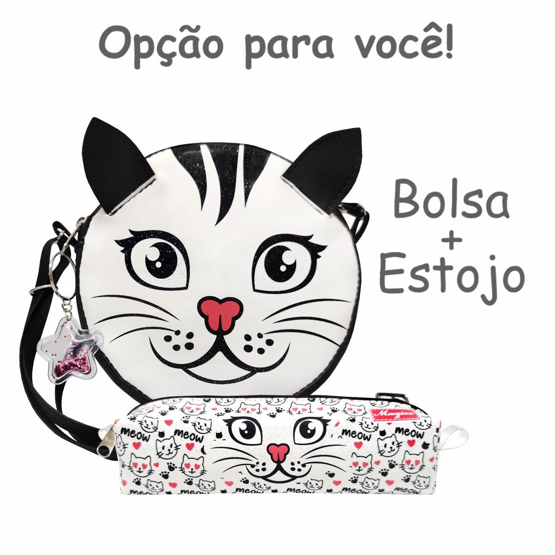 Bolsa Infantil Gatinho, Magicc Bolsas