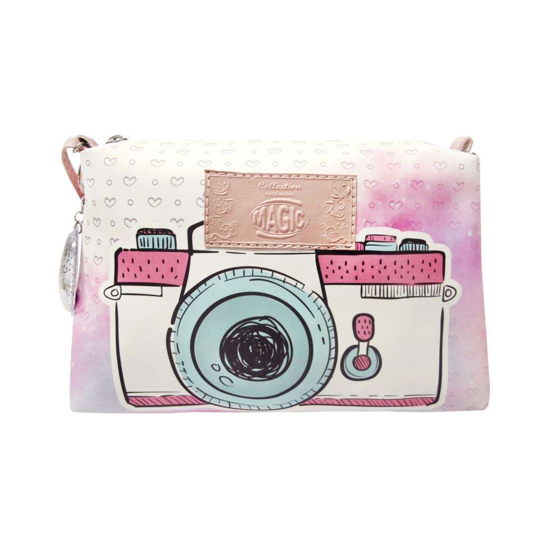 Bolsa Infantil Máquina Fotográfica, Magicc
