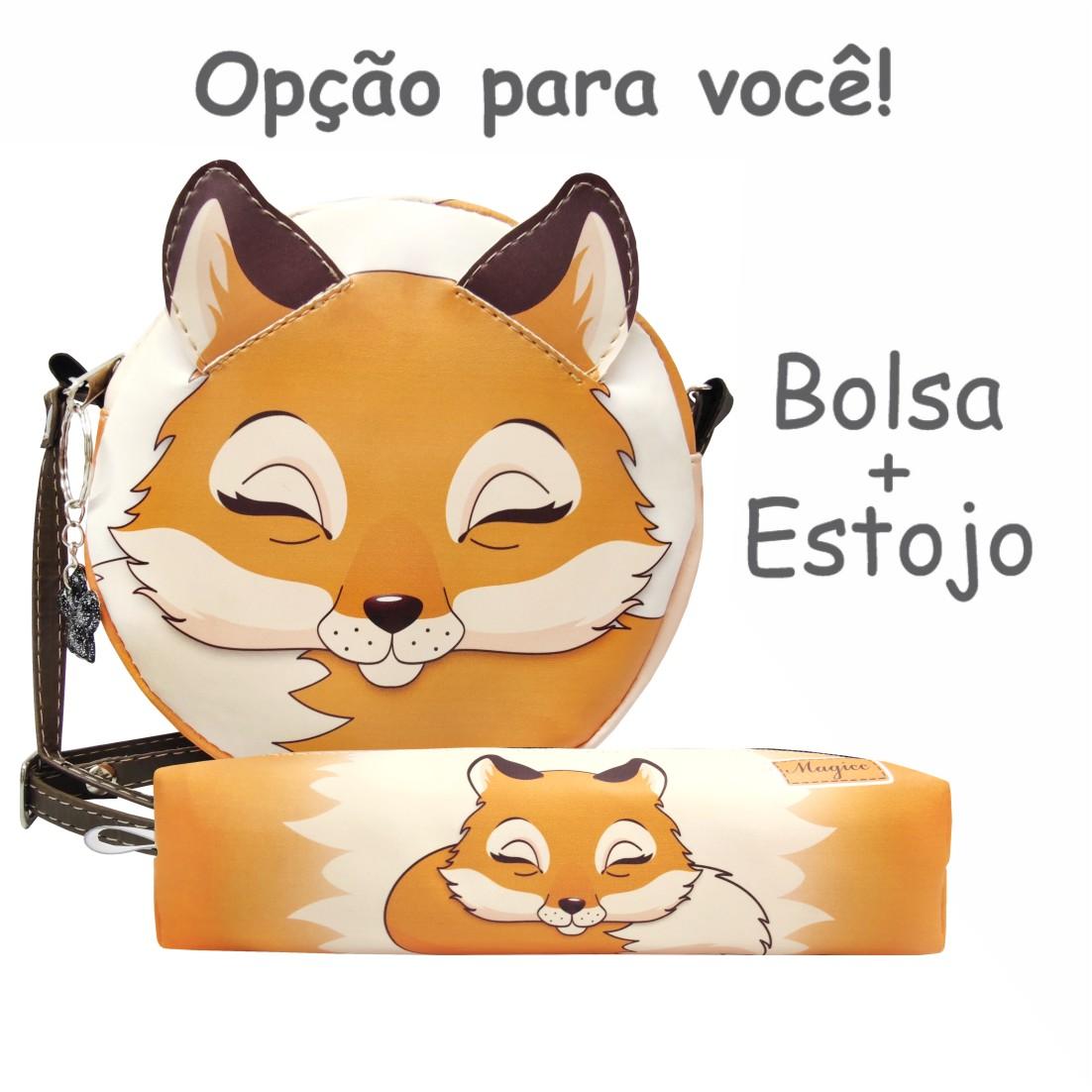 Bolsa Infantil Raposinha, Magicc