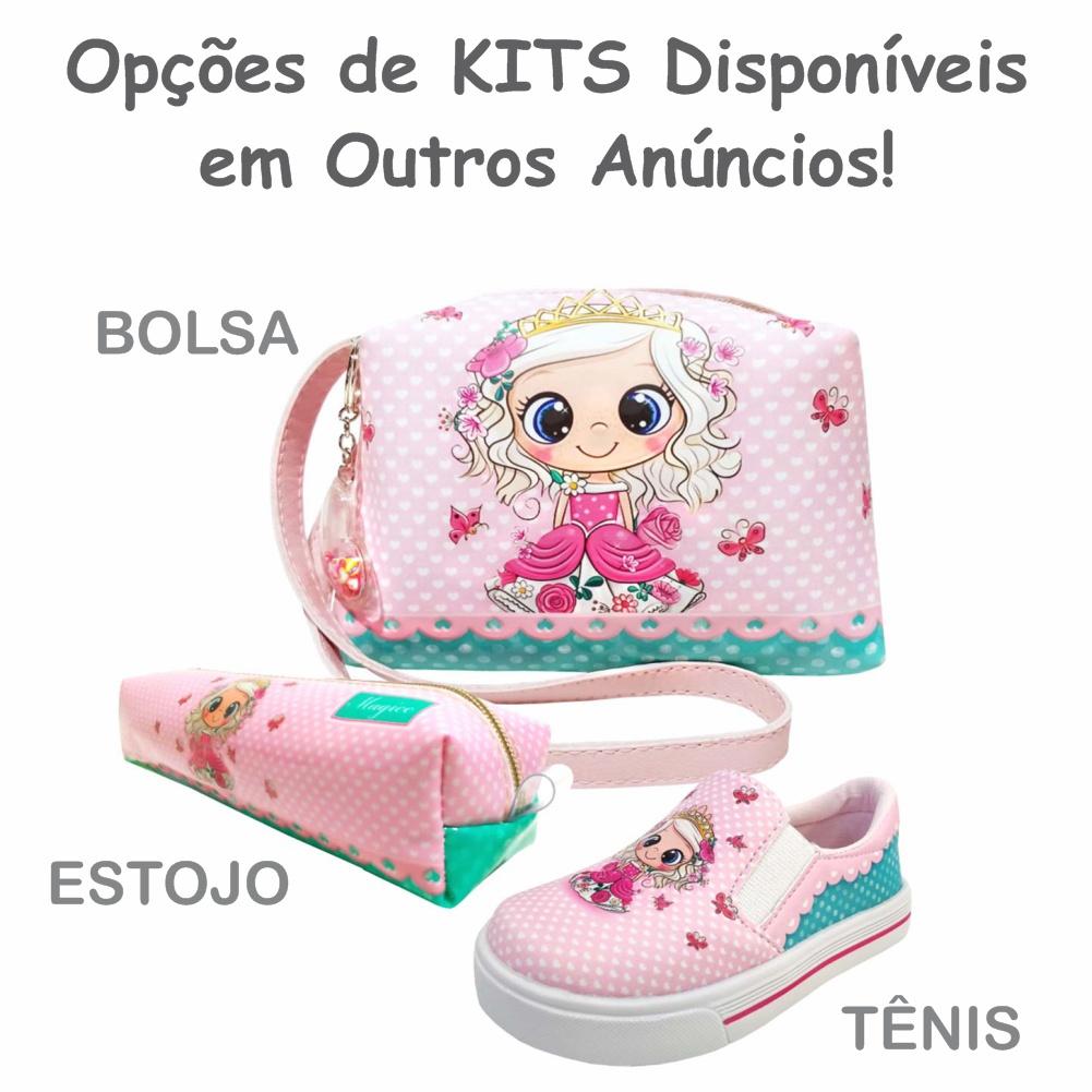 Bolsa Infantil Regulável Princesinha Com Borboletas, Magicc