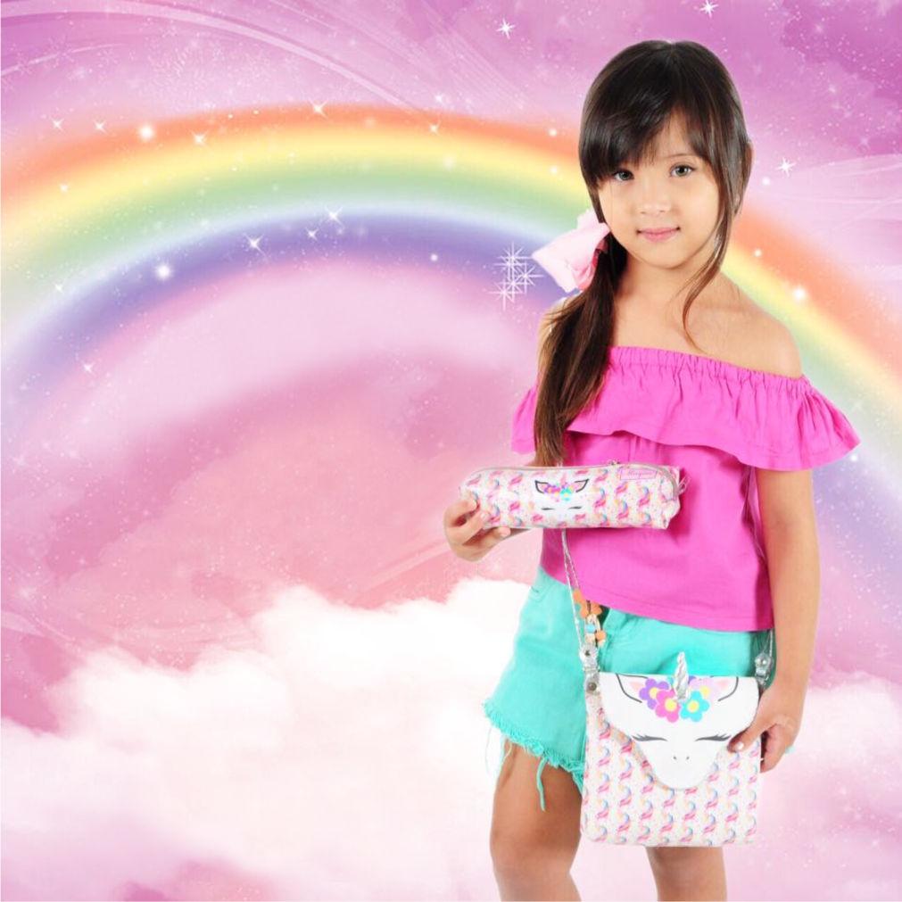 Bolsa Infantil Unicórnio Feliz, Magicc