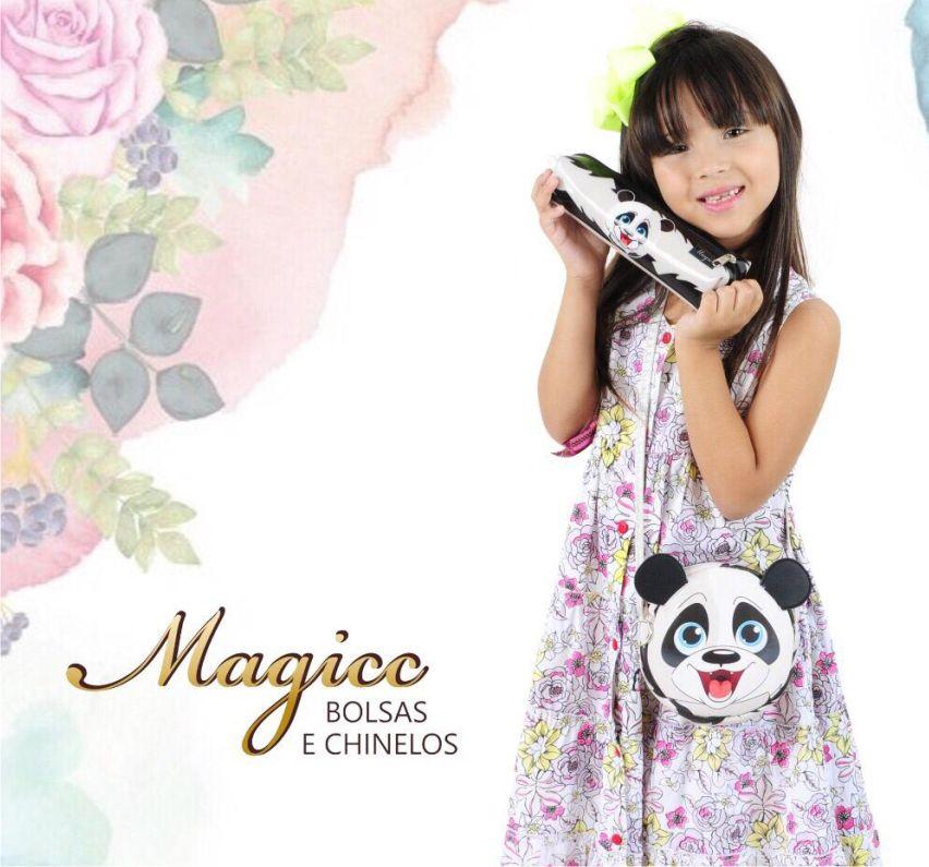 Bolsa Infantil Ursinho Feliz, Magicc