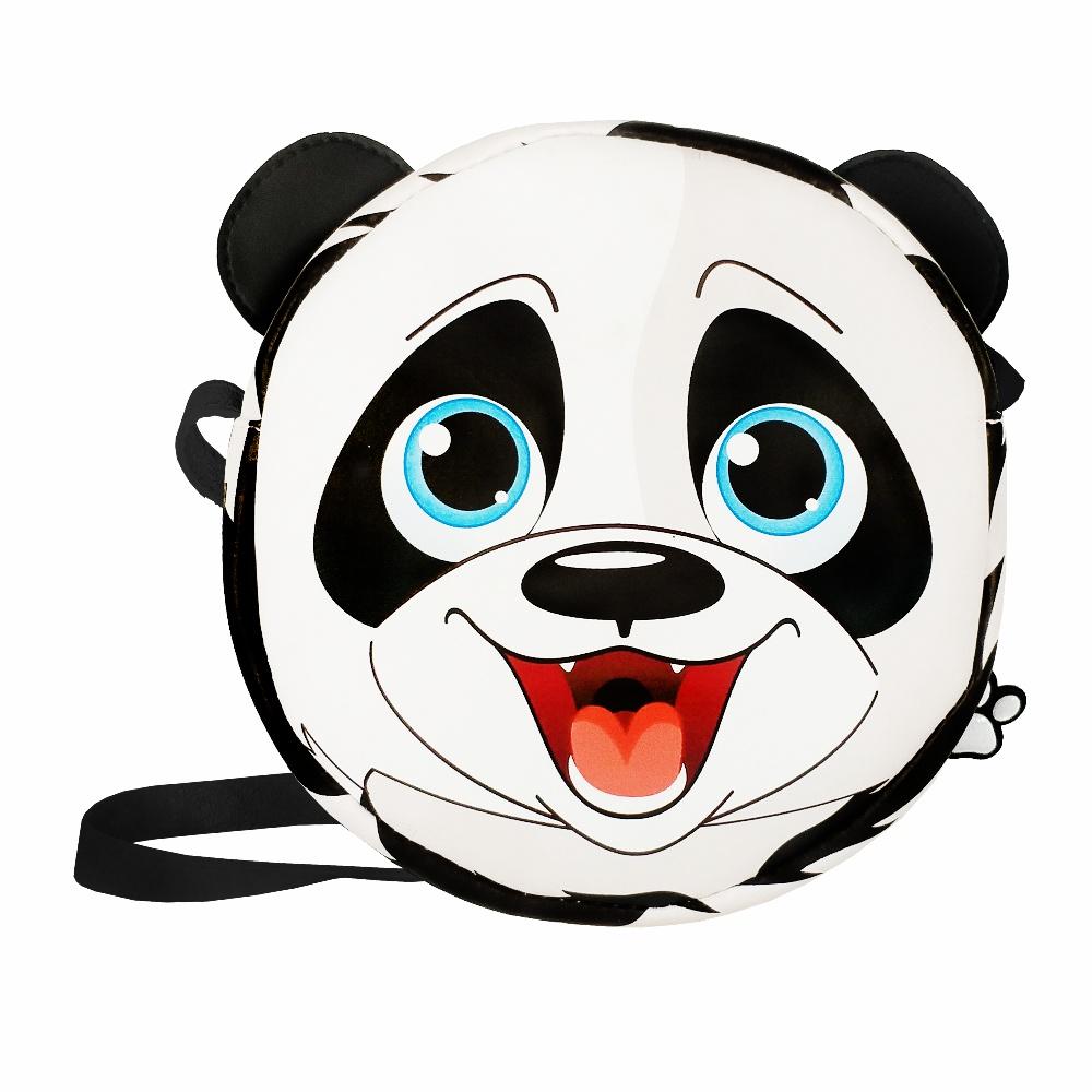 Bolsa Infantil Ursinho Panda, Magicc - Atacado 10 Bolsas