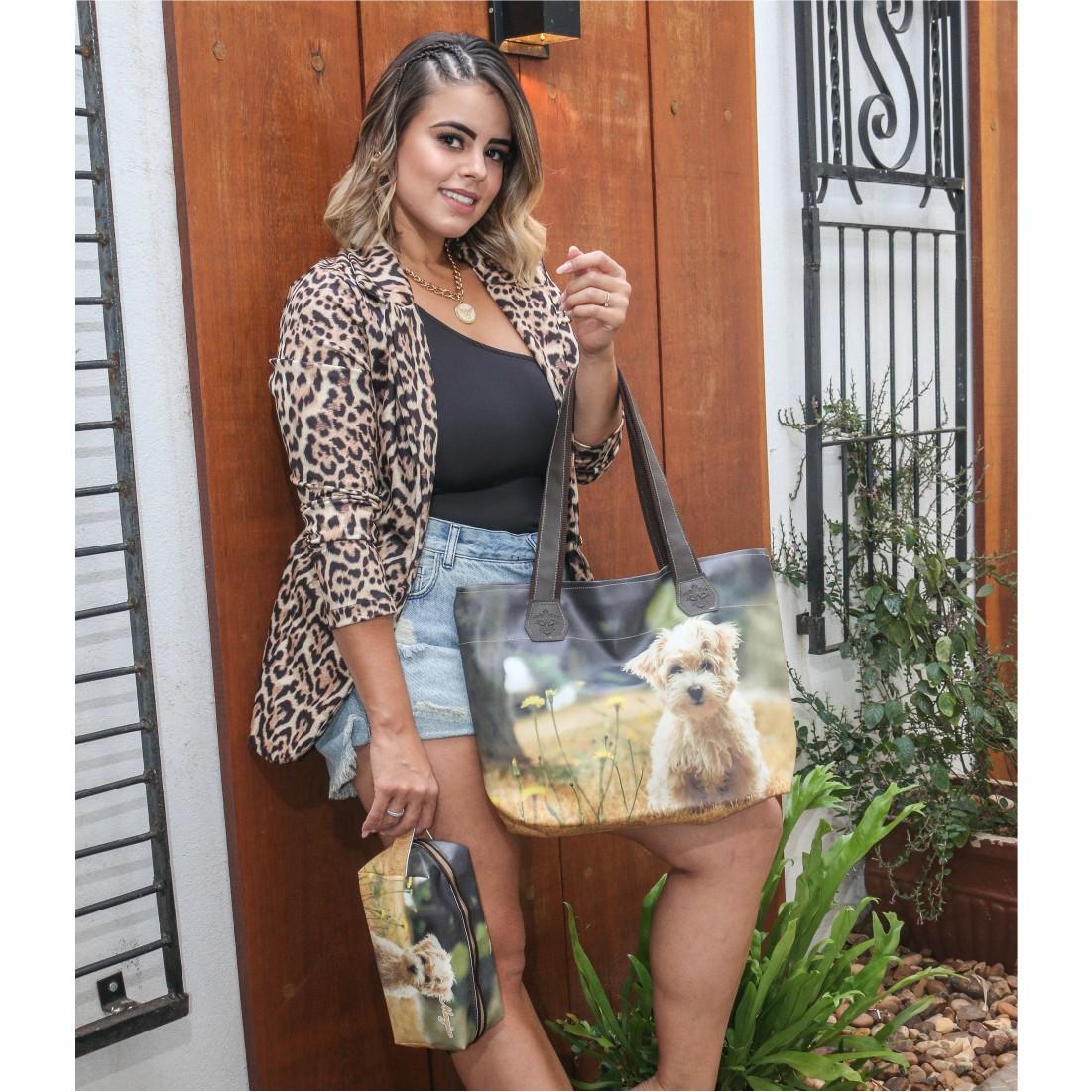 Bolsa Pet Feminina Cachorrinho, Magicc