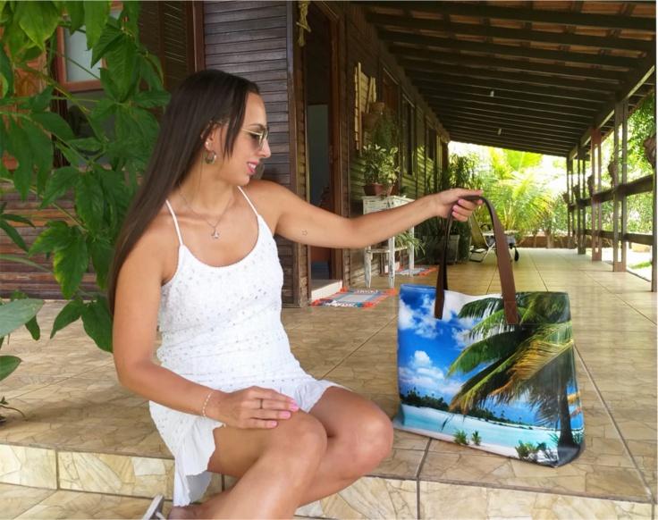 Bolsa Praia Feminina  Coqueiro, Magicc Bolsas