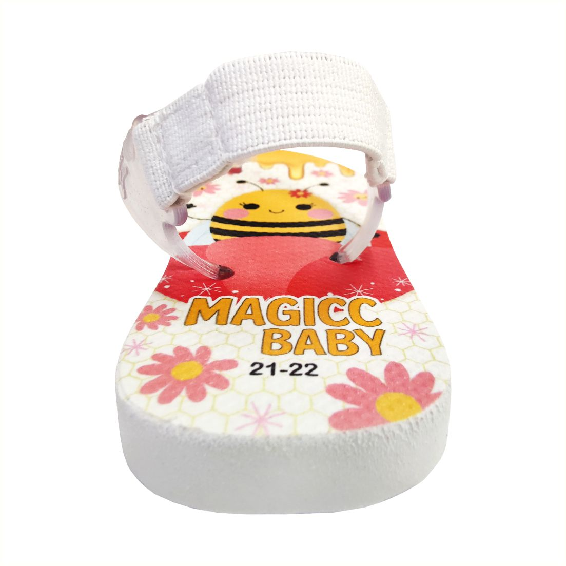 Chinelo Menina Bebê  Sandália Abelhinha Magicc Baby