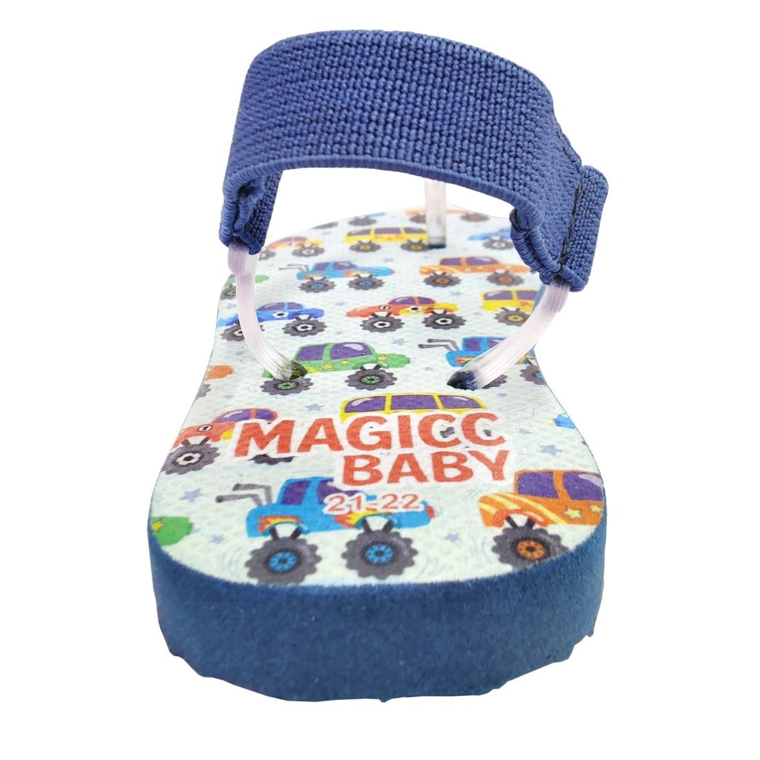 Chinelo Menino Bebê Sandália Carrinhos Magicc Baby