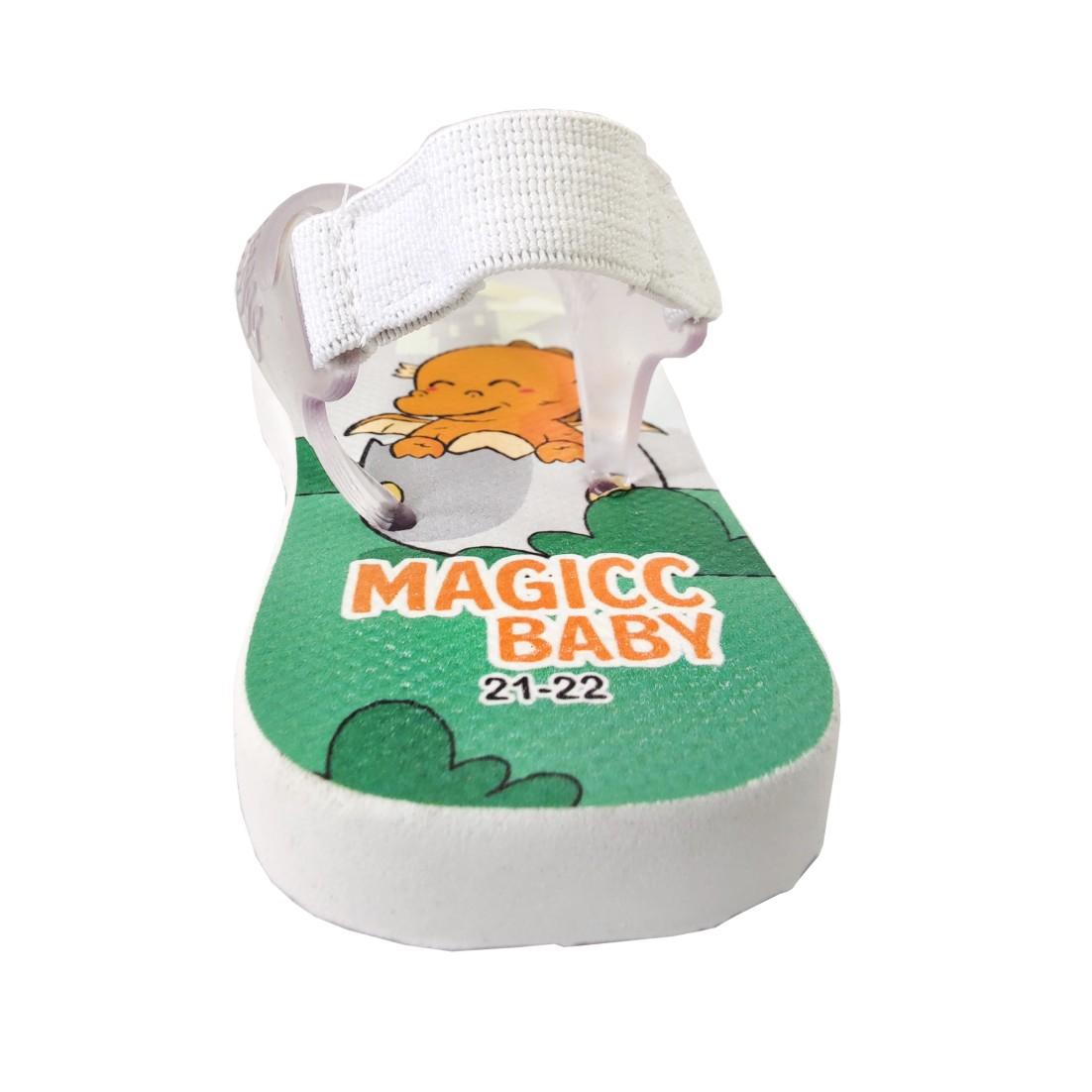 Chinelo Menino Bebê Sandália Dragões Bebês Magicc Baby