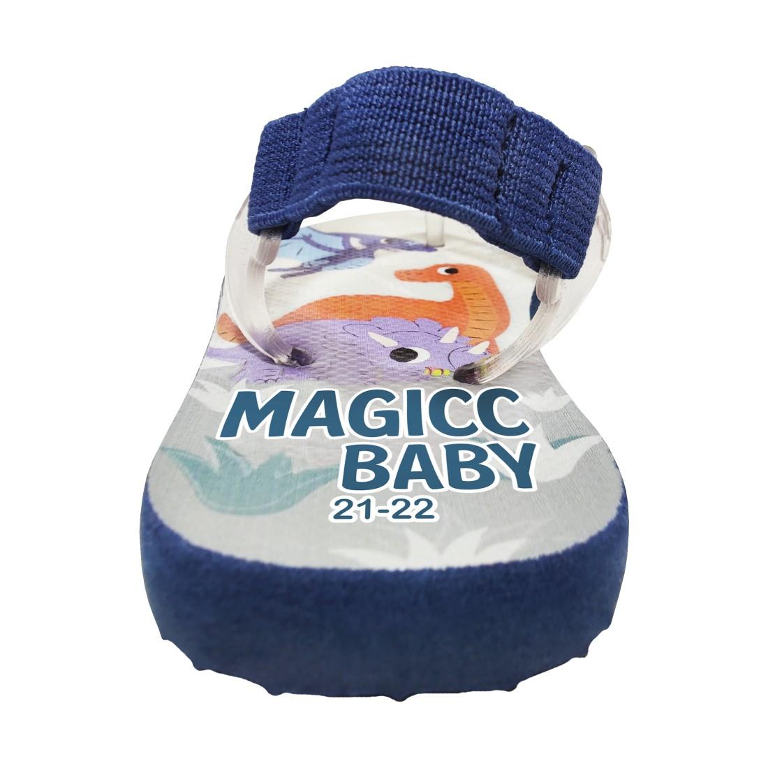 Chinelo Bebê Sandália Infantil Dinos Meninos Magicc Baby