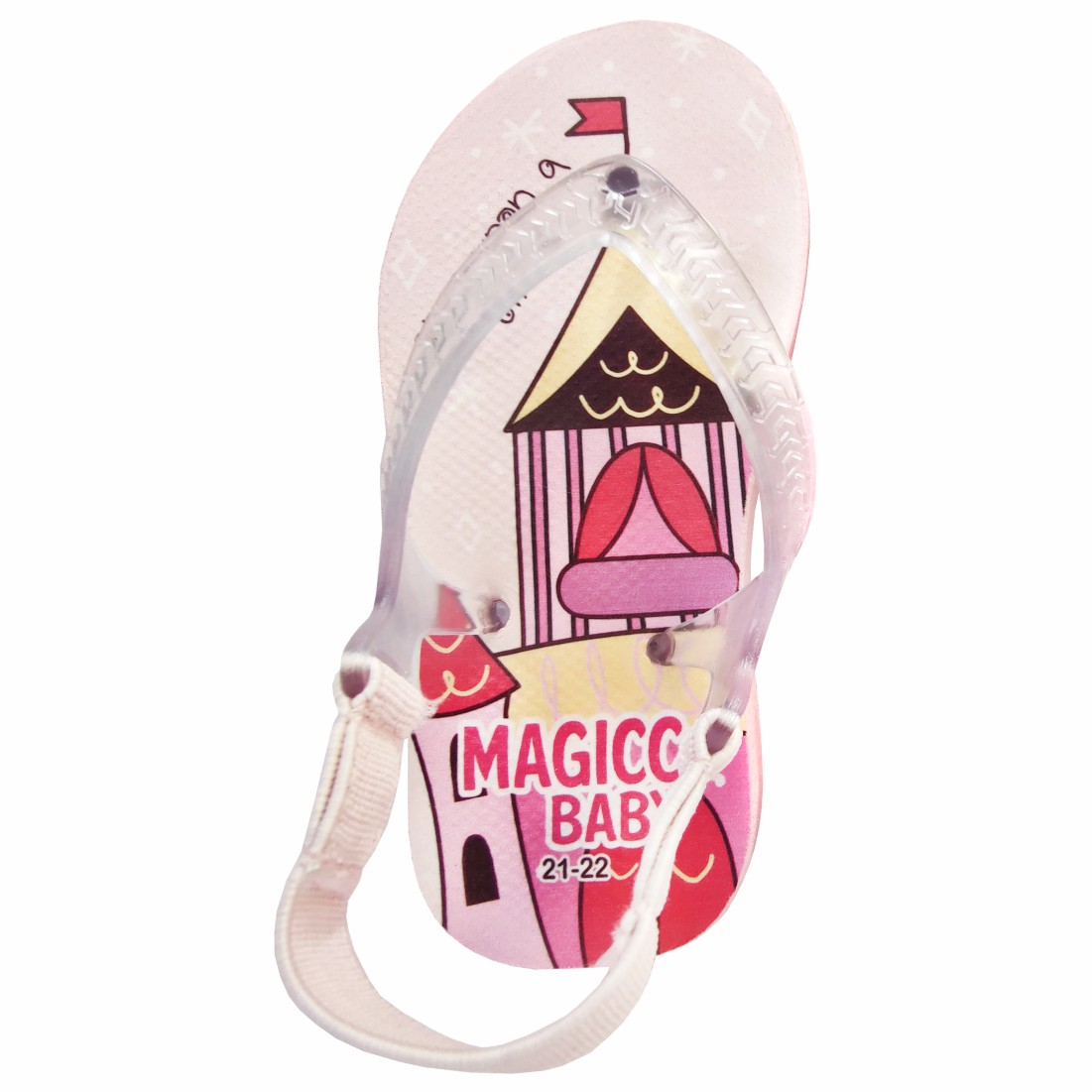 Chinelo Bebê Sandália Infantil Princesa Meninas Magicc Baby
