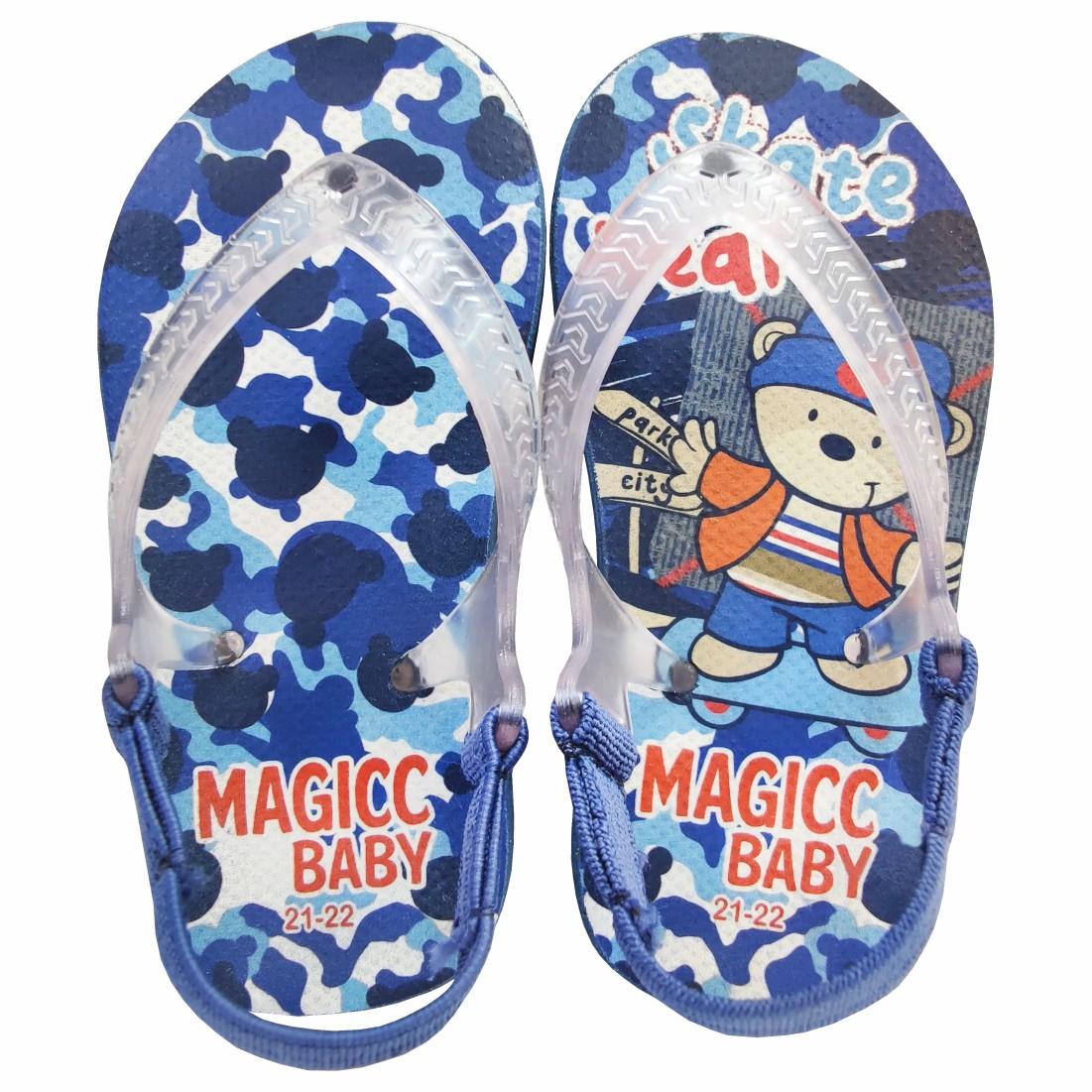 Chinelo Bebê Sandália Infantil Skate Bebês Meninos Magicc Baby