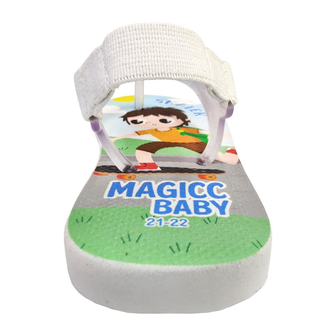 Chinelo Menino Bebê Sandália  Skate Magicc Baby