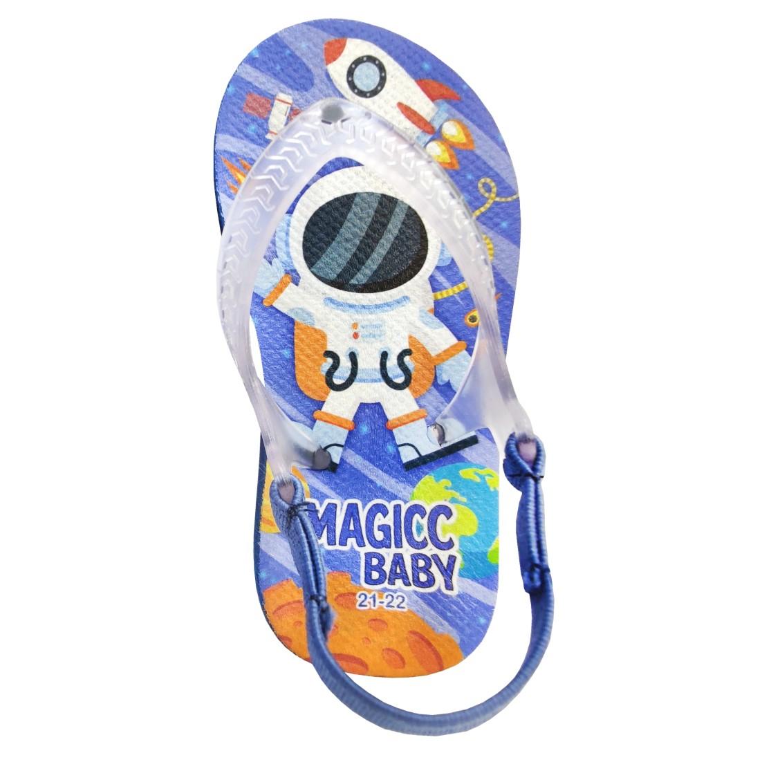 Chinelo Menino Bebê Sandália Space Astronauta Magicc Baby