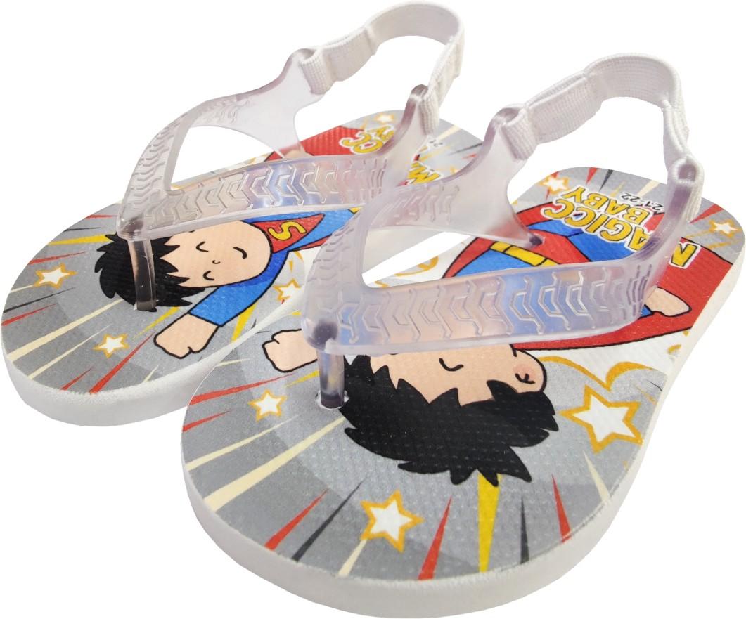 Chinelo Menino Bebê Sandália Super Herói Magicc Baby