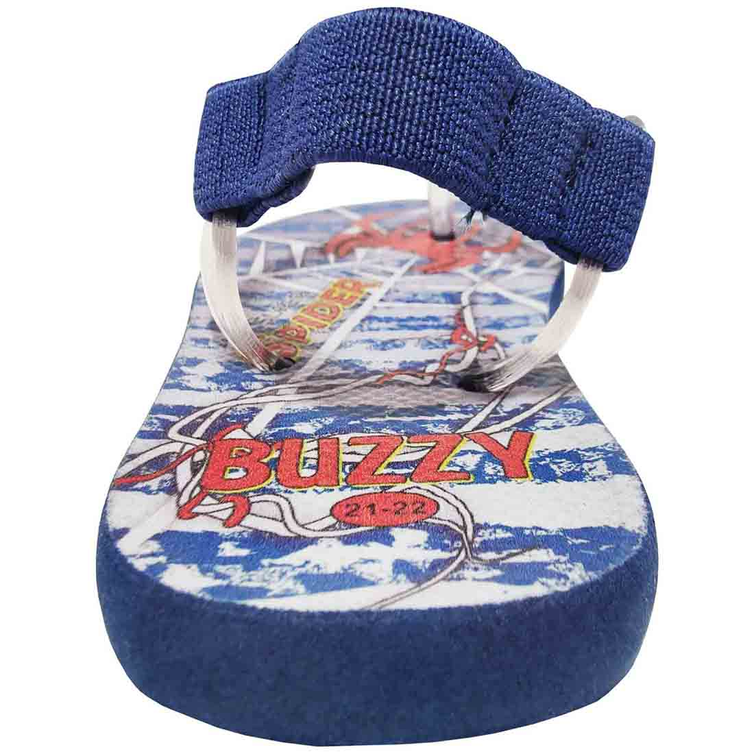 Chinelo  Bebê Buzzy Sandália Infantil Aranha Meninos BZ006