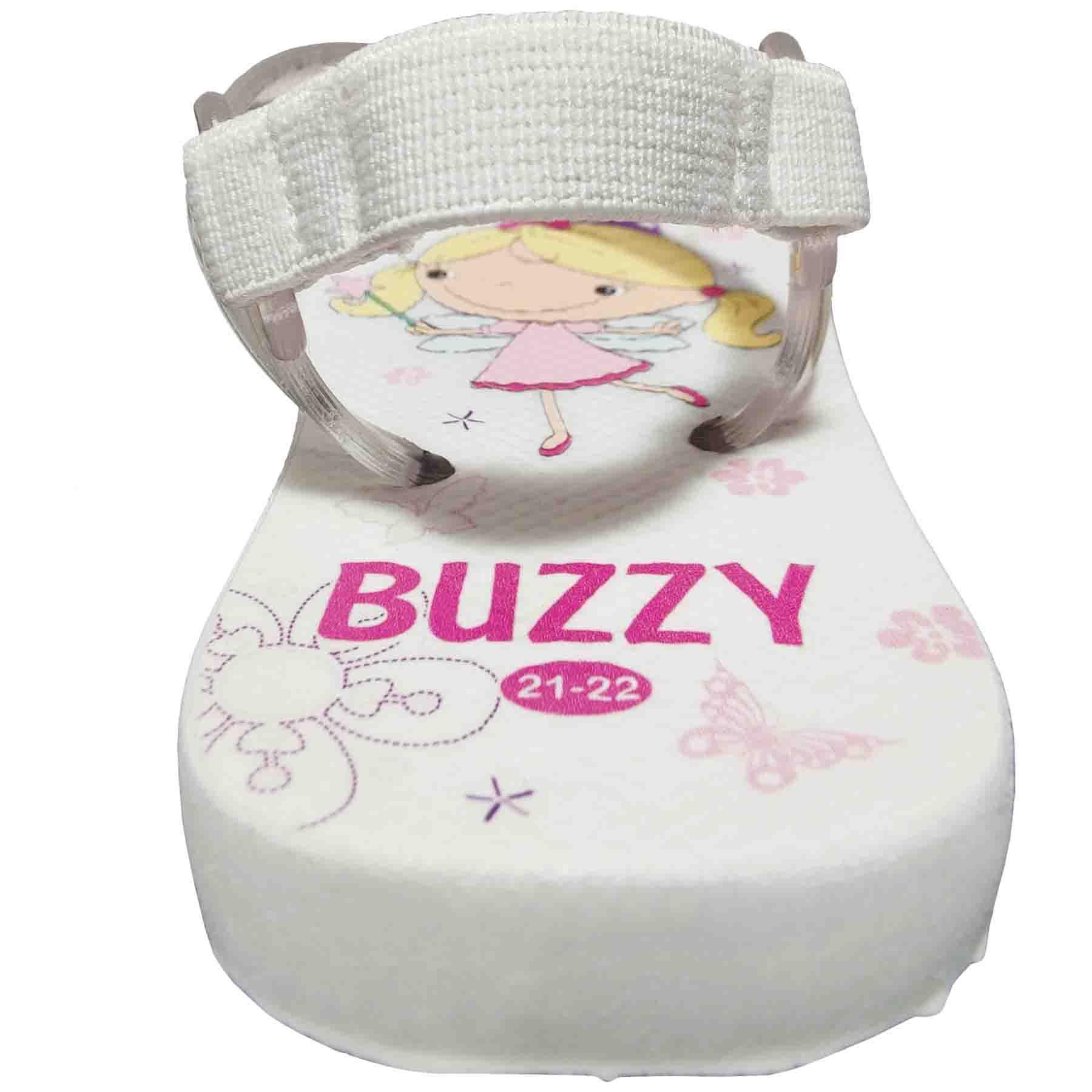 Chinelo Bebê Buzzy Sandália Infantil Encantada Meninas BZ016