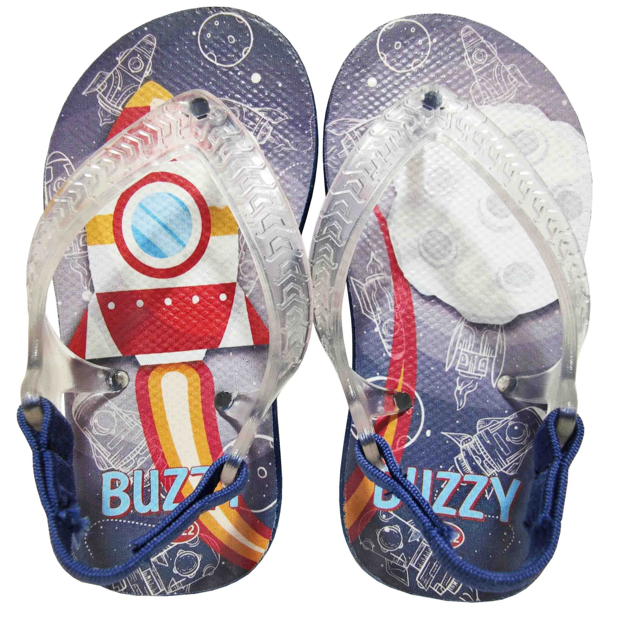 Chinelo Buzzy Sandália Infantil Foguete Bebês Meninos BZ014