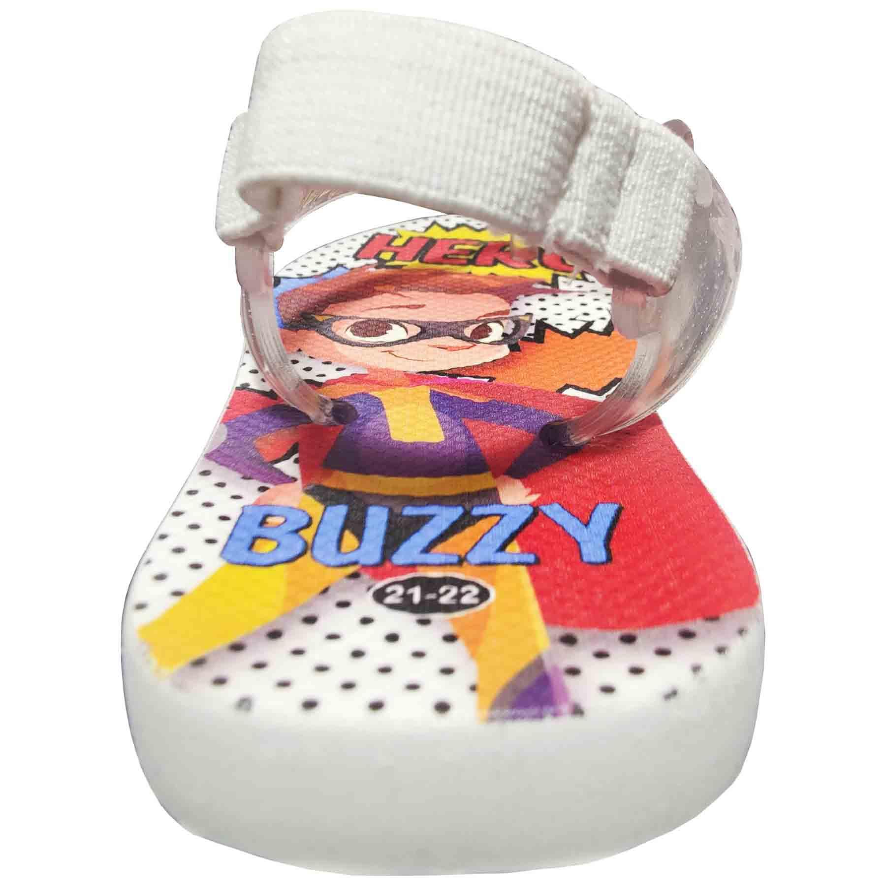 Chinelo Bebê Buzzy Sandália Infantil Herói Meninos BZ009