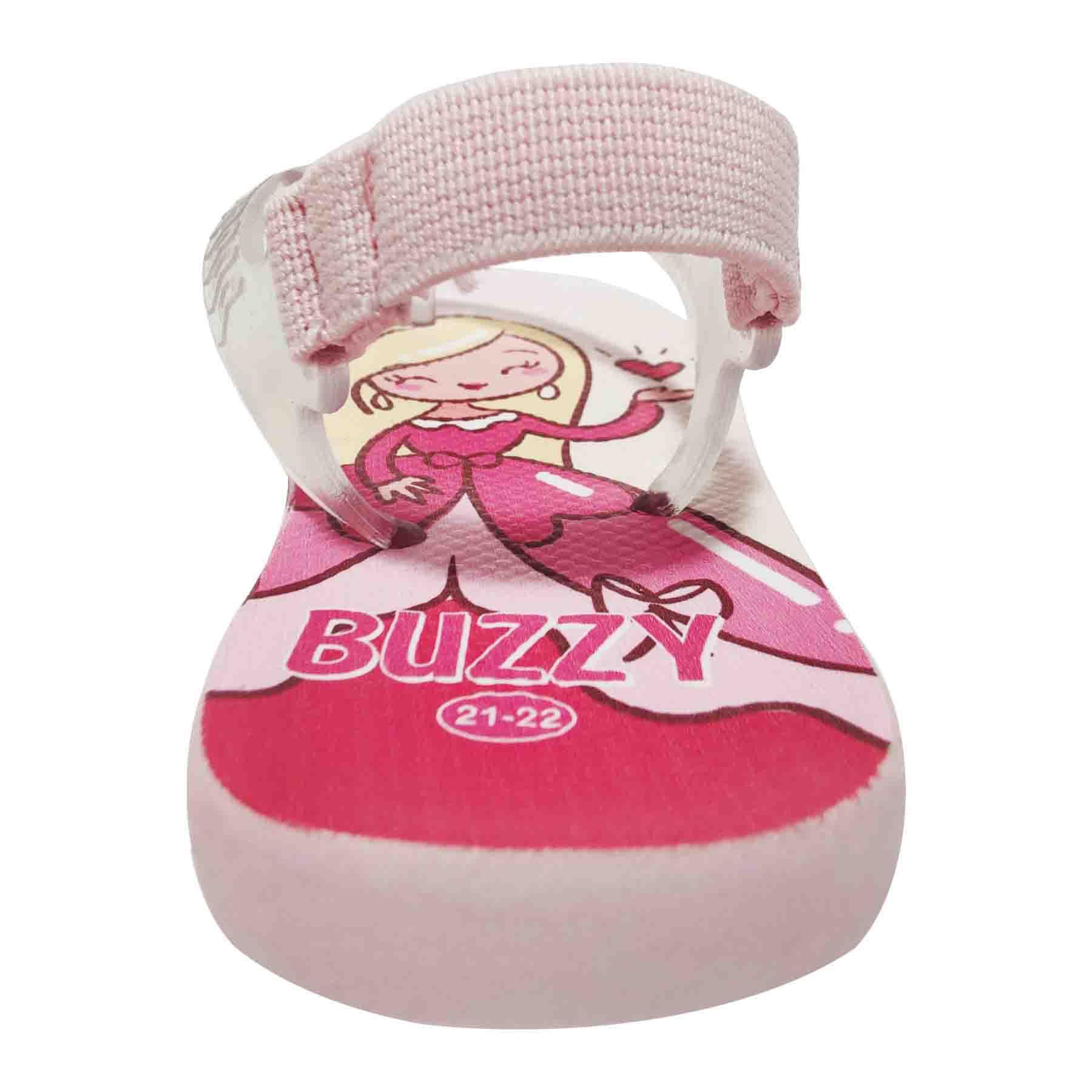 Chinelo Buzzy Sandália Infantil Princesa Bebê Meninas BZ017