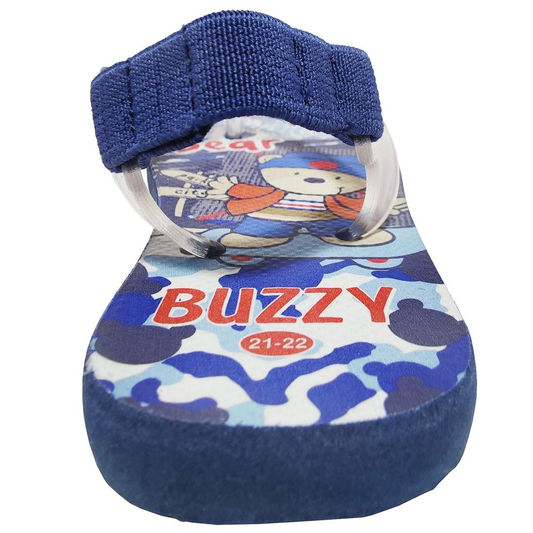 Chinelo Bebê Buzzy Sandália Infantil Skate Bebês Meninos BZ002