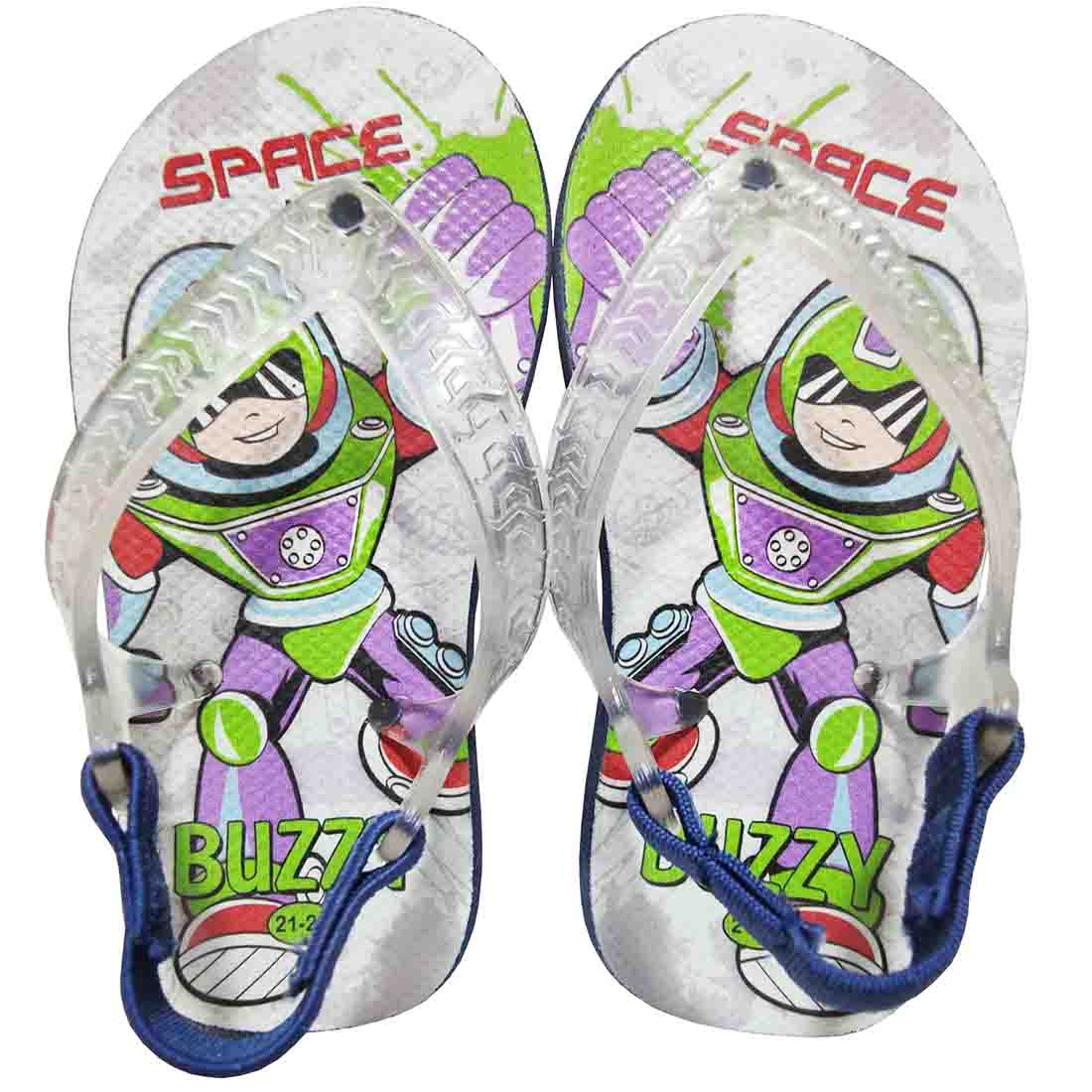 Chinelo Bebê Buzzy Sandália Infantil Space Hero Menino BZ015