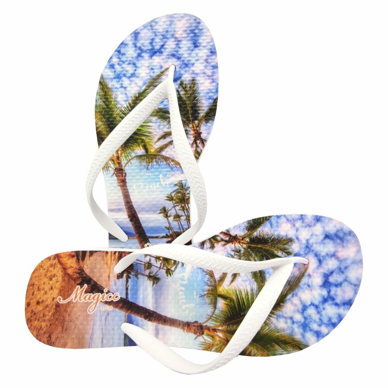 Chinelo Praia Feminino Beach Coqueiros , Magicc