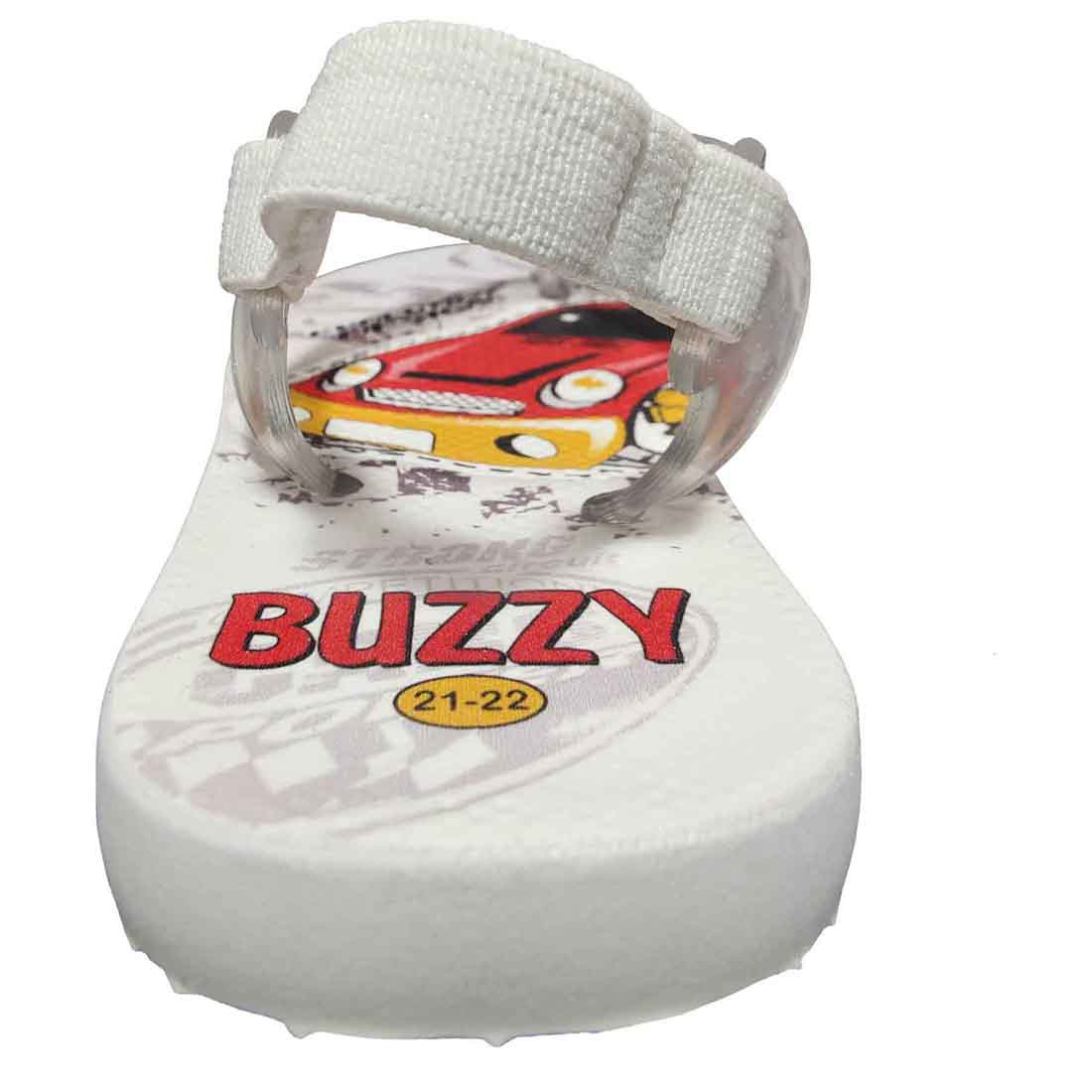 Chinelo Bebê Infantil 12 Pares Carro Buzzy BZ007