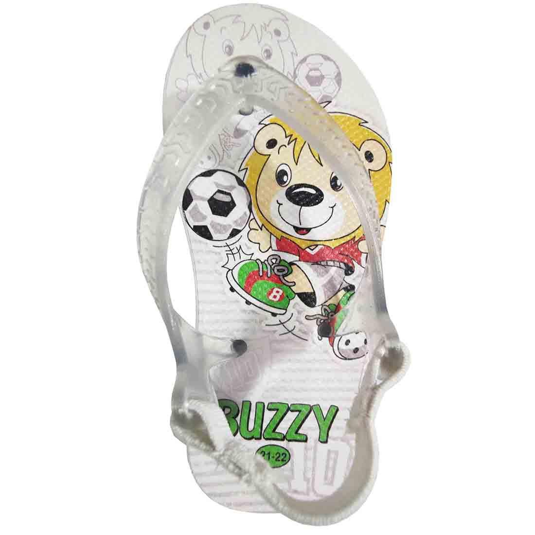 Chinelo Bebê Atacado Infantil 12 Pares Futebol Buzzy BZ013