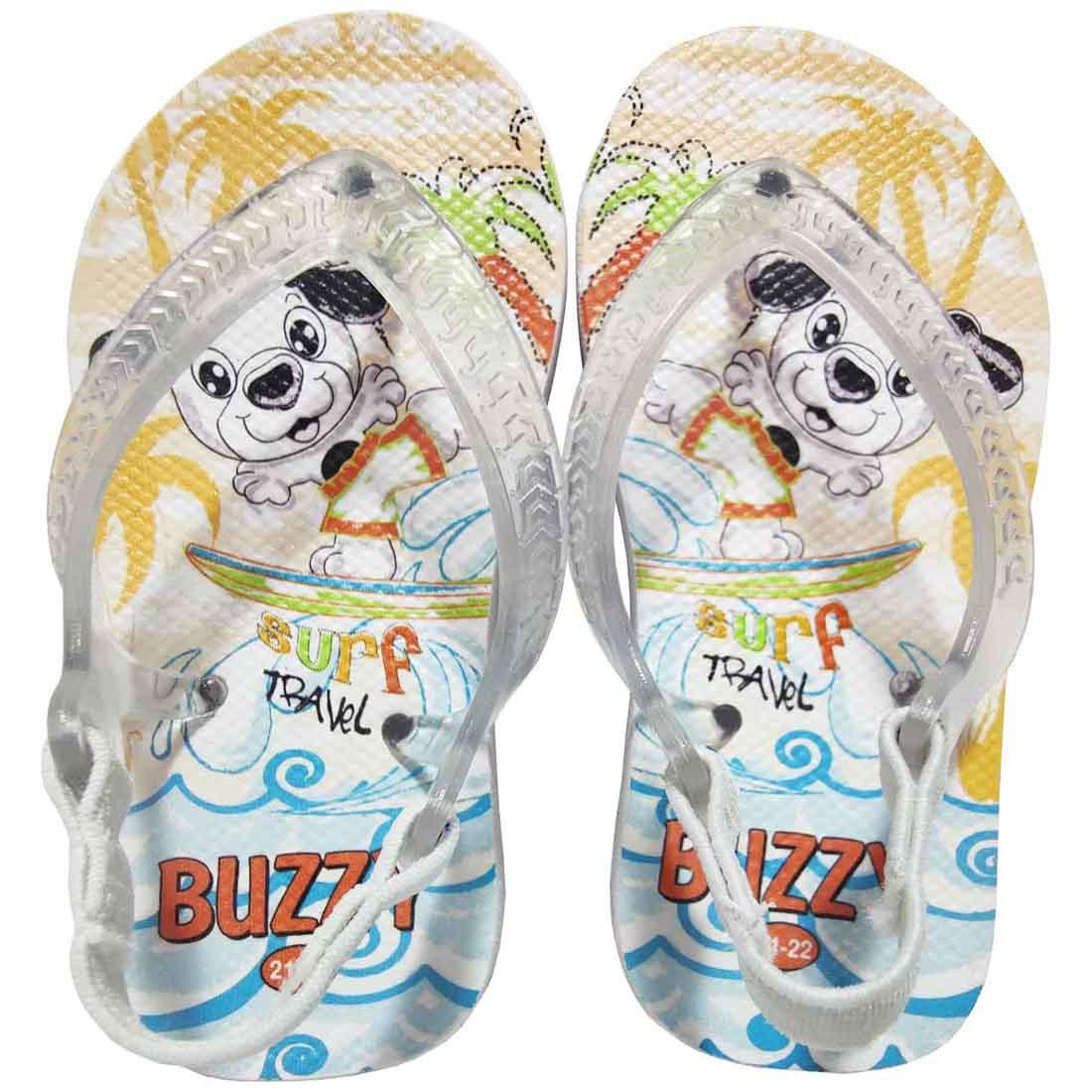 Chinelo Bebê Atacado Infantil 12 Pares Surf Buzzy BZ005