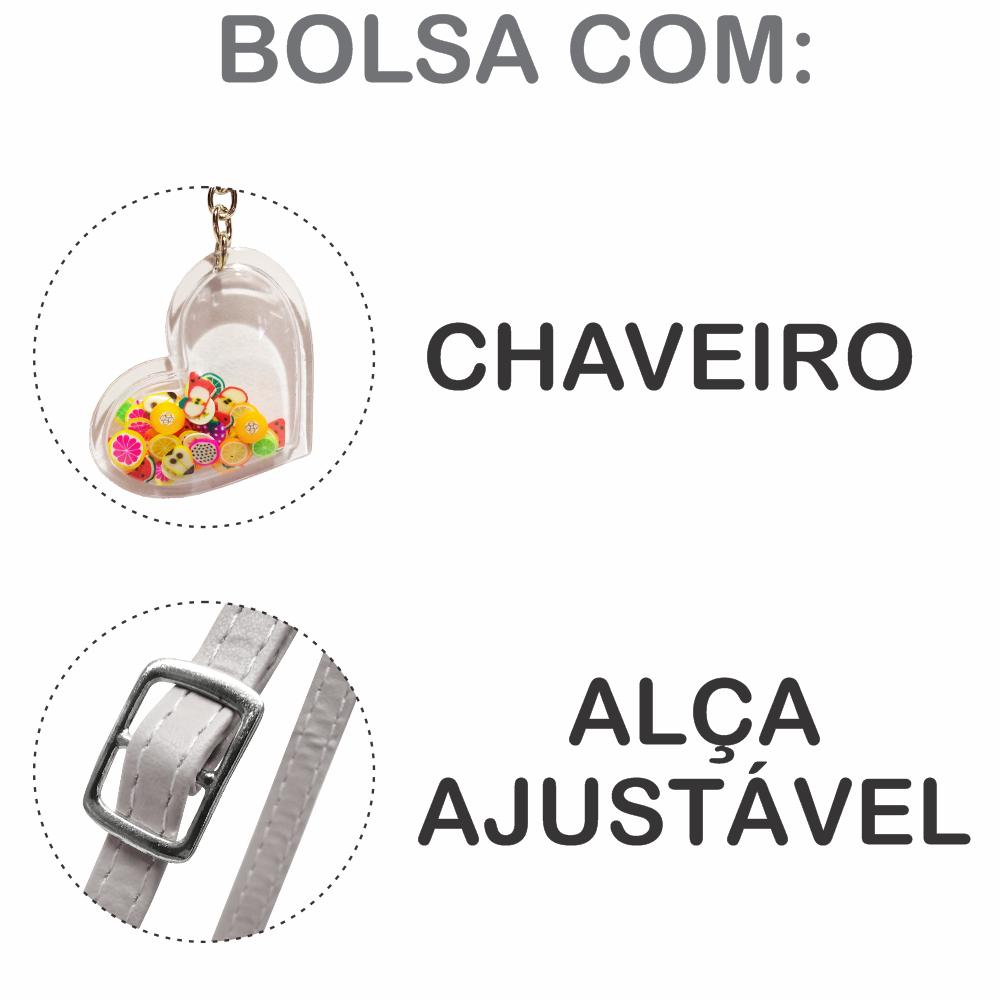 Kit Infantil Bolsa e Estojo  Laranjinha, Magicc Bolsas