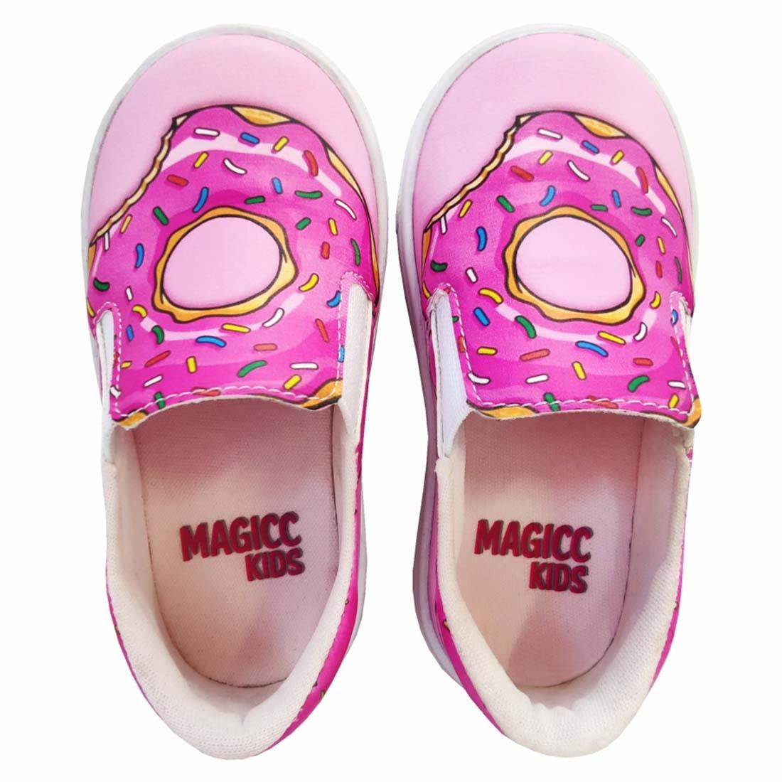 Kit Infantil Bolsa e Tênis Donut's, Magicc Kids