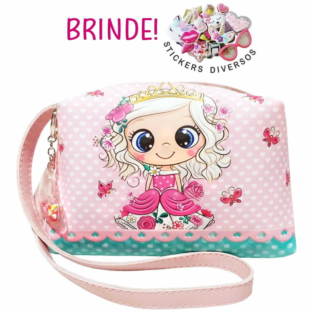 Kit Infantil Bolsa e Tênis Princesinha com Borboletas, Magicc Kids
