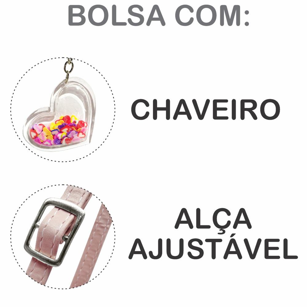 Kit Infantil Bolsa, Tênis e Estojo Princesa com Borboletas, Magicc Kids