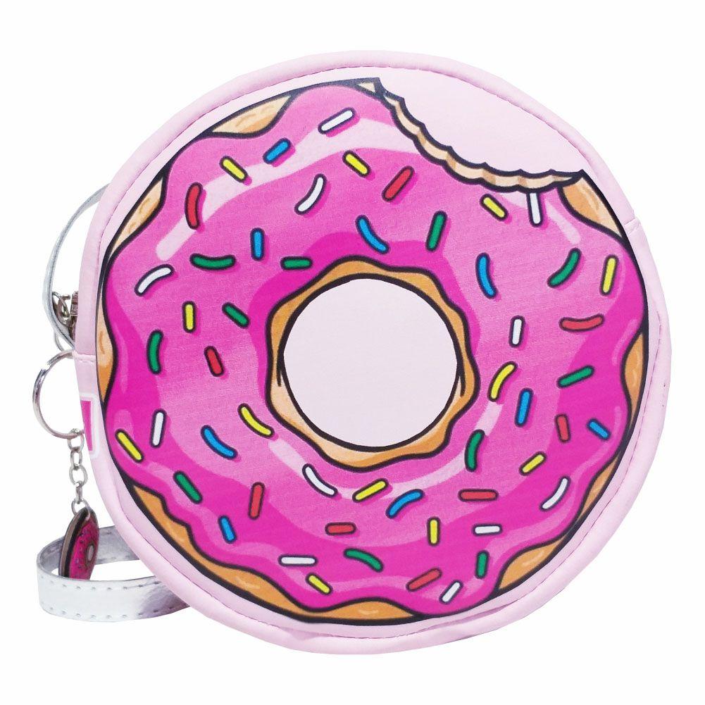 Kit Infantil  Bolsa e Estojo Donuts, Magicc Bolsas