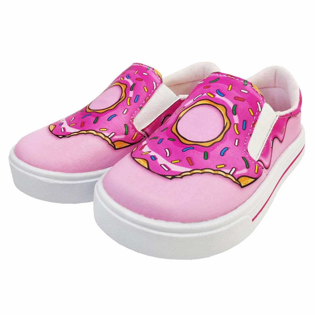 Kit Infantil Feminino Tênis Iate e Bolsa Donut's, Magicc Kids
