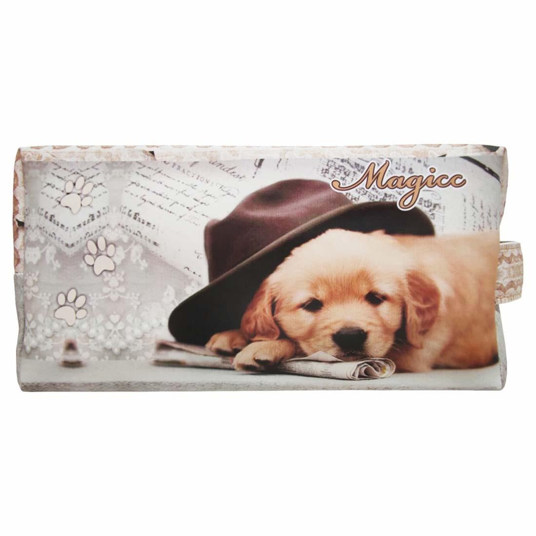 Necessaire Pet Feminina Cachorrinho de Chapéu, Magicc