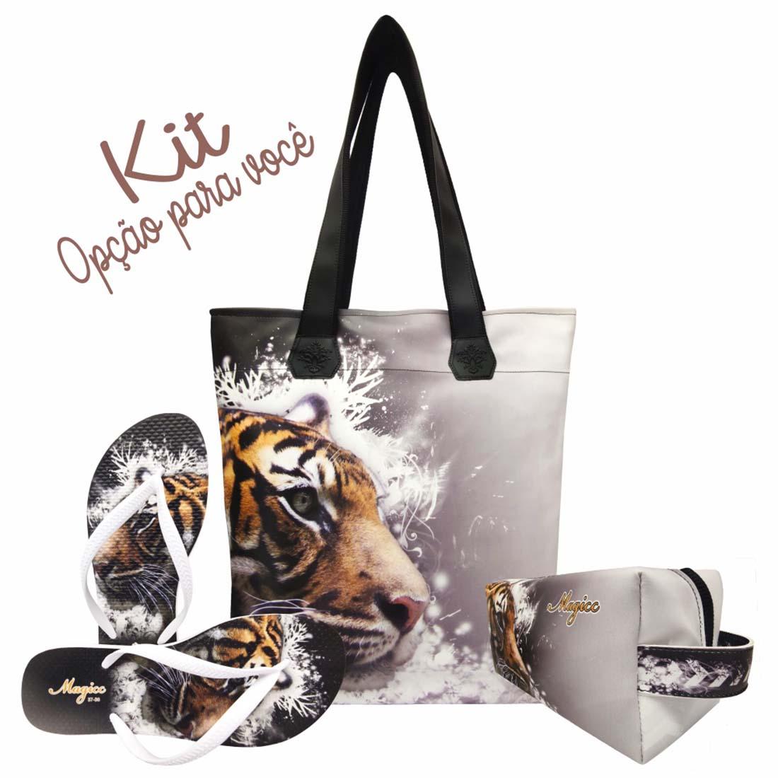 Necessaire Selva Feminina Tigre, Magicc