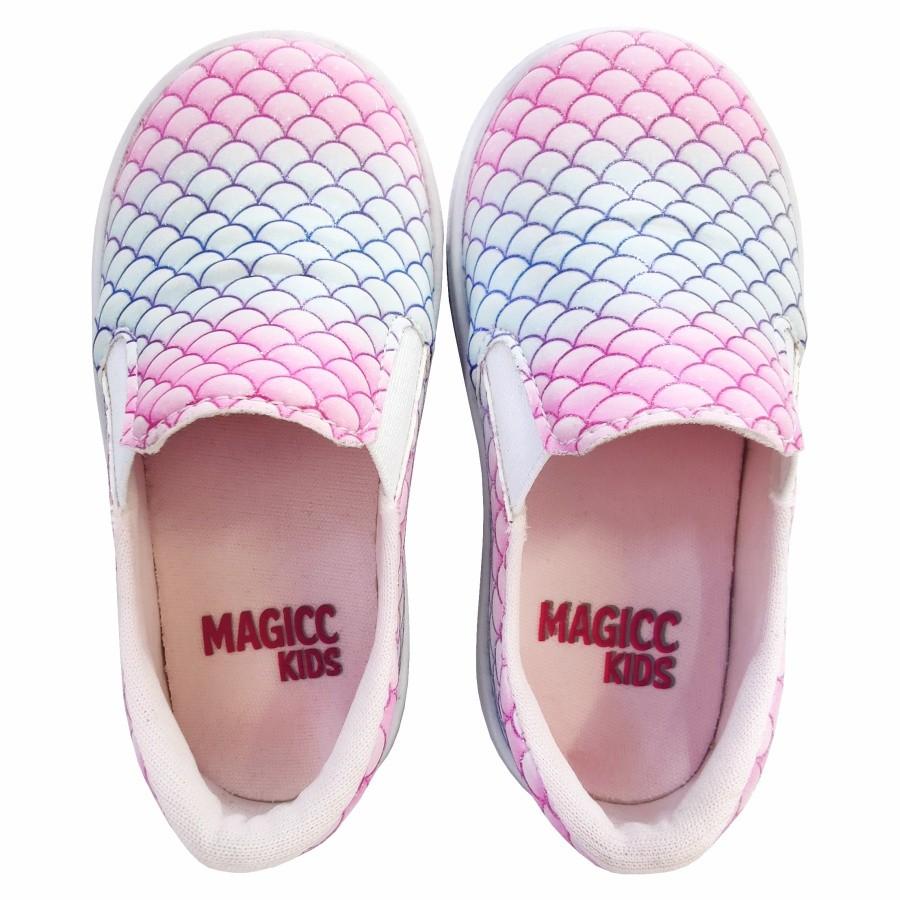 Tênis Infantil Feminino Sereia, Magicc Kids