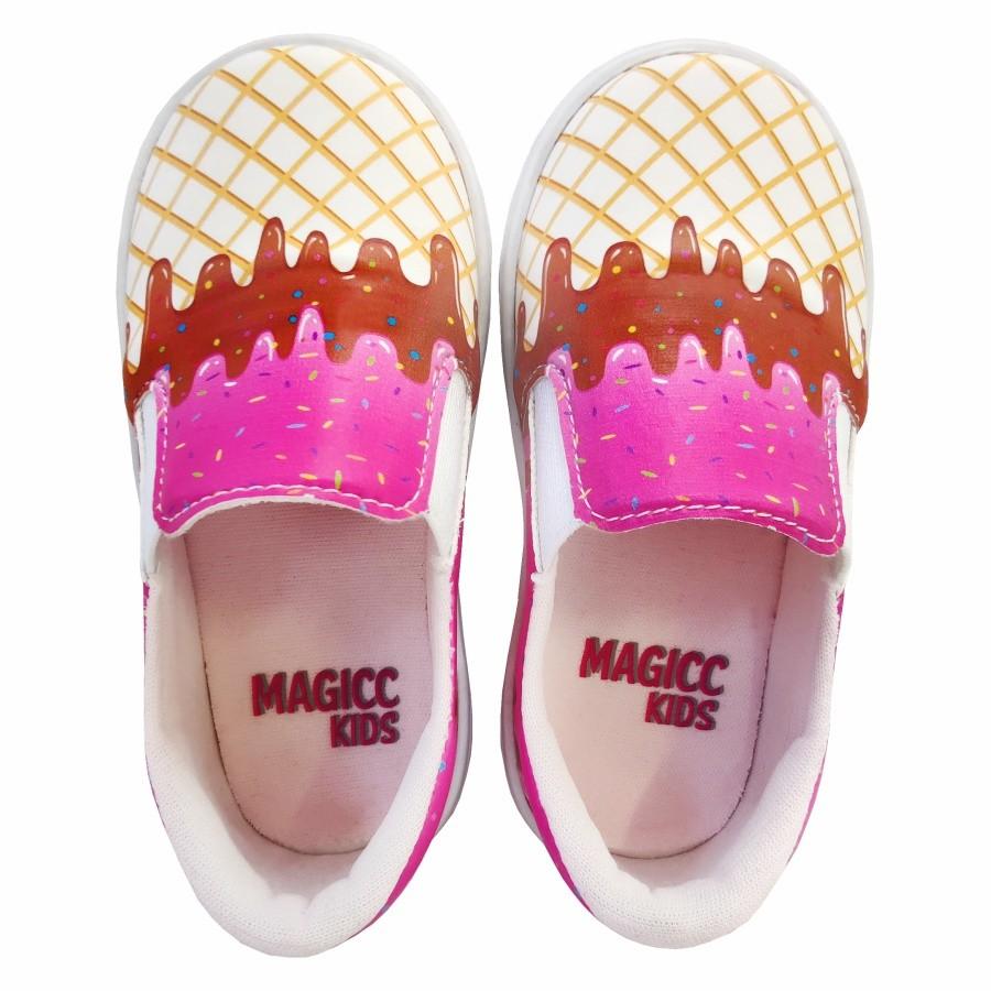 Tênis Infantil Iate Feminino Sorvete, Magicc Kids