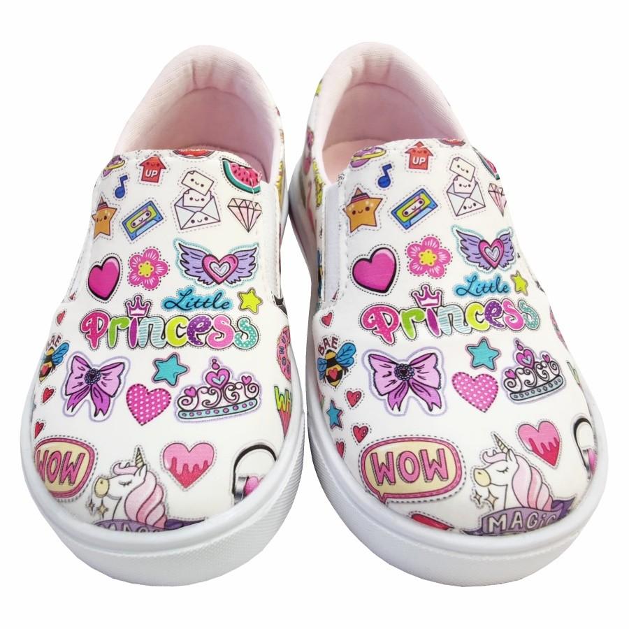 Tênis Infantil Iate Feminino Stickers, Magicc Kids