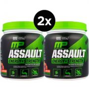 2X Assault Muscle Pharm, Pré Treino, Energia + Força 345 g