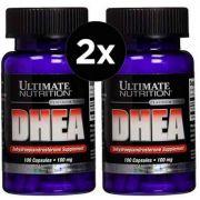 2X DHEA 100mg Ultimate Nutrition 100 Cápsulas