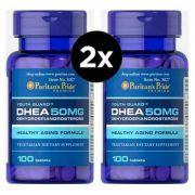 2X Dhea Puritan's Pride 50mg -100 Comprimidos