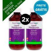 2X Melatonina liquida 2,5mg - 237 ml- Natrol