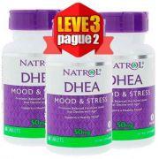 Leve 3 Pague 2 - DHEA Natrol 50mg, 60 comprimidos