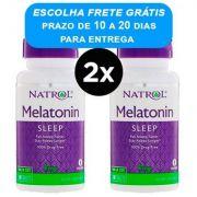Melatonina 1mg Natrol 180 comprimidos (2 Frascos)