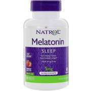 Melatonina 5mg Fast Dissolve sublingual Sabor Morango - Natrol - 150 comprimidos