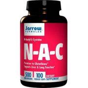 NAC (N-Acetil-L-Cisteína) 500mg – 100 Cápsulas– Jarrow Formulas