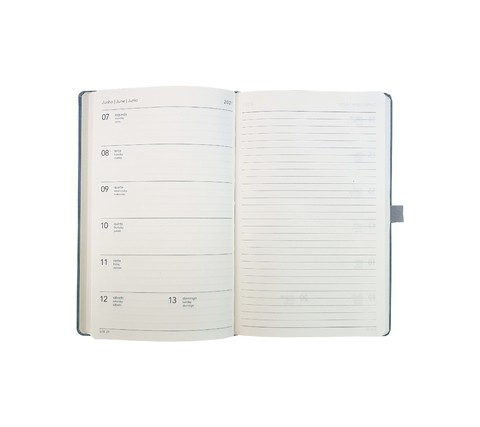 Agenda 2021 Ótima Papertalk Maxi Cotton Azul