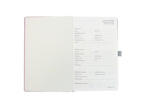 Agenda 2021 Ótima Papertalk Maxi Cotton Rosa